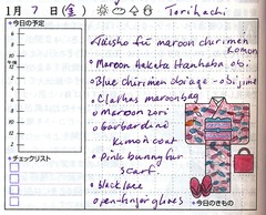 Kimono Notes Friday 20110107