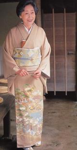 UK Winter 2006 Awase Kimono (Iro-Tomesode)