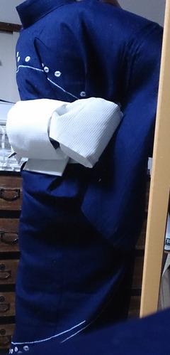 Shibori Houmongi Yukata