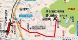 Kanazawa Bunko Map