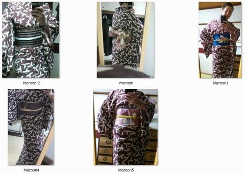 Taisho-esque Kimono Coordinations