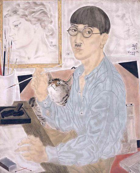 2018 Foujita self-portrait 2