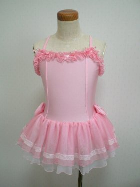 ピンクのふりふり