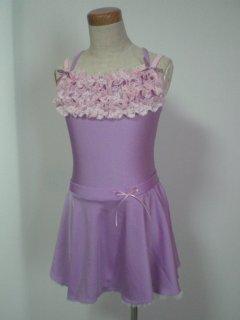 薄紫×ベビーピンク