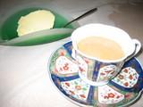 レモンムースとコーヒー