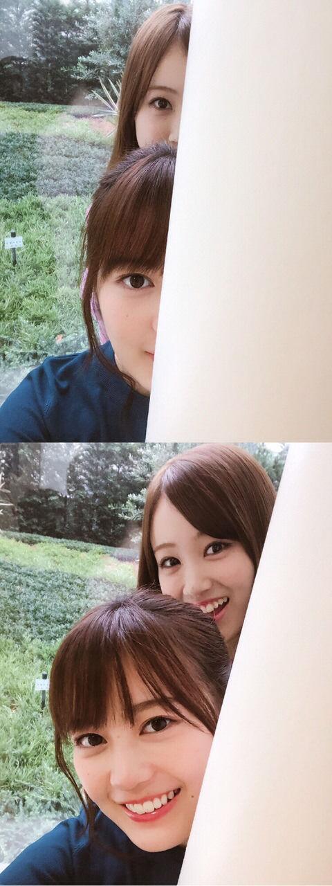【速報】生田絵梨花さん、顔半分隠すと新垣結衣