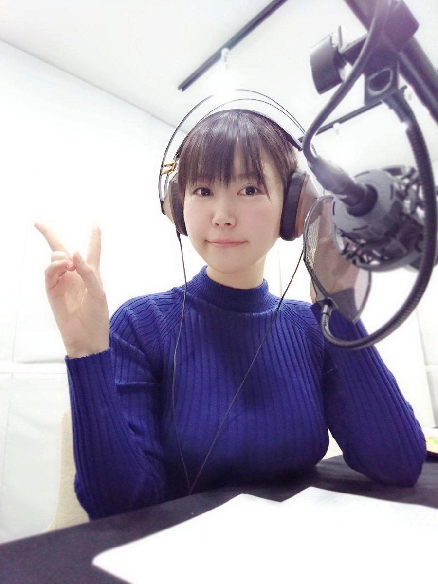 【画像】声優・小岩井ことりさんのニット着衣おっぱいエチエチw!