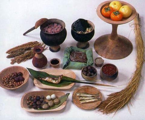 【画像あり】弥生時代の食事www