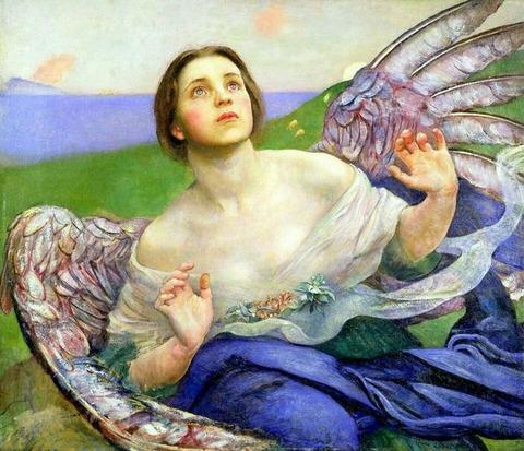 601d13d0c084c59ad82161686c9c7409--pre-raphaelite-the-angel