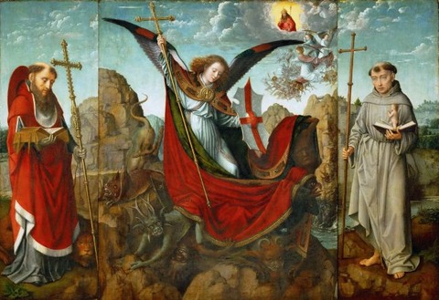 Altarpiece-of-St-Michael-Gerard-David-oil-painting