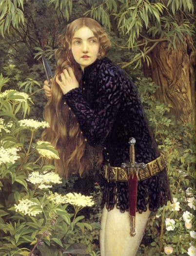 Eleanor Fortescue Brickdale The Little Foot Page
