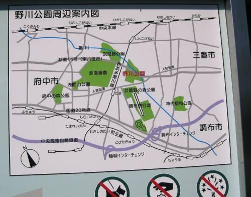 27野川案内図