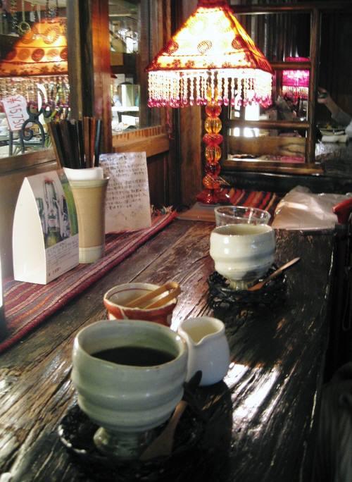 19喫茶店内