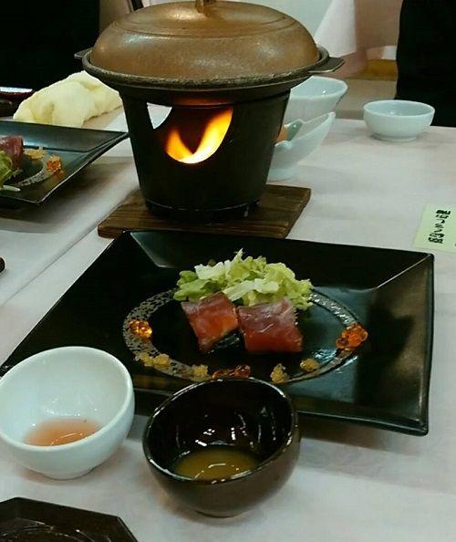 休暇村夕食3