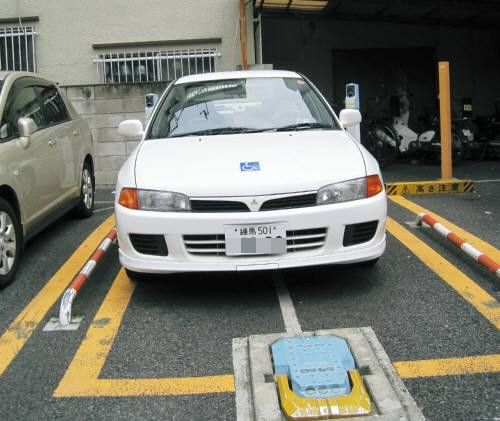 14駐車場