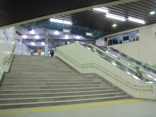 旧大階段見上げ