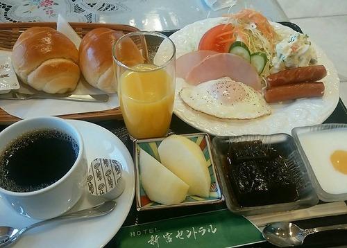 新宮セントラル朝食