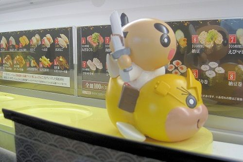 くら寿司列車
