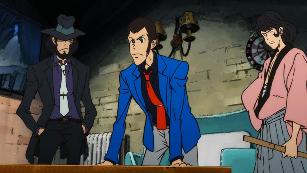 青ジャケットのルパン三世