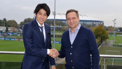 内田の契約延長ニュースにサポから喜びの声「シャルケドリームを叶えた選手」 海外の反応