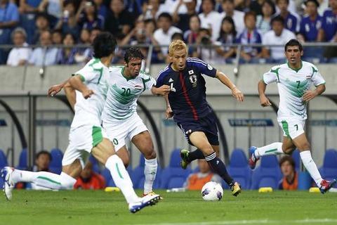 日本、再三の決定機を外すも本田のPKで勝利 海外の反応