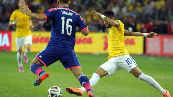 日本代表、ブラジルに完敗 ネイマールを止められず4失点 海外 ...