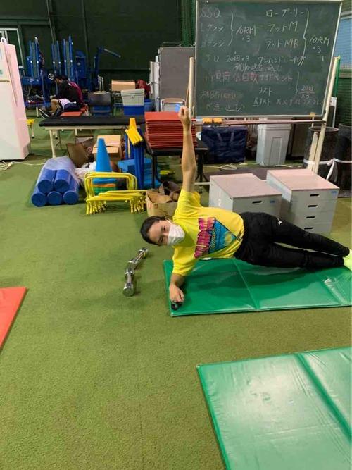トレーニング!!【亜細亜大学テニス部-EVER UPWARD!】