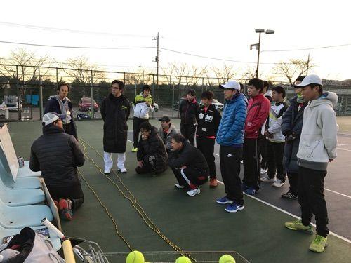 チャリティークリニック(12/9)3種の攻撃編について。【亜細亜大学テニス部-EVER UPWARD!】