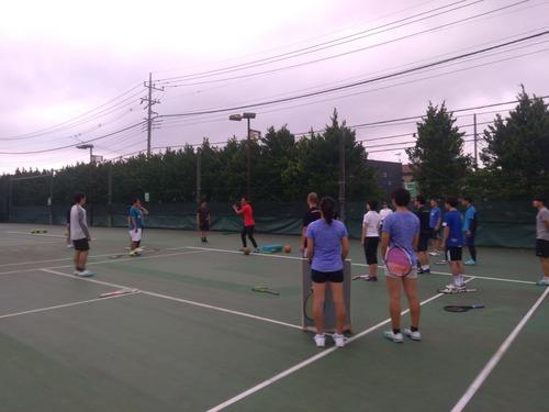 チャリティーテニスクリニック(ストローク編)【亜細亜大学テニス部-EVER UPWARD!】