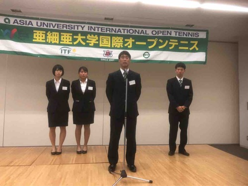 OBOG懇親会を開催しました!【亜細亜大学テニス部-EVER UPWARD!】