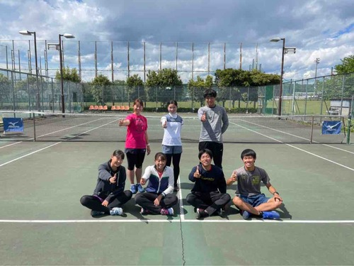 Instagramフォロワー数555人達成!!【亜細亜大学テニス部-EVER UPWARD!】