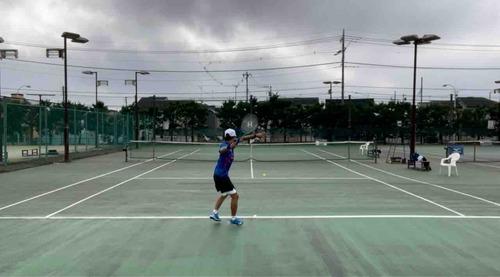 今日のpractice!!【亜細亜大学テニス部-EVER UPWARD!】