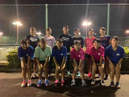 〈女子〉静岡市立高校練習参加【亜細亜大学テニス部-EVER UPWARD!】