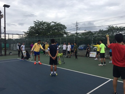 チャリティークリニック(サーブ編)について。【亜細亜大学テニス部-EVER UPWARD!】