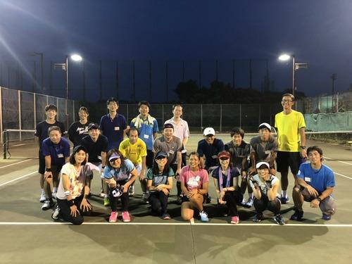 チャリティーテニスクリニック(ネットプレー編)【亜細亜大学テニス部-EVER UPWARD!】
