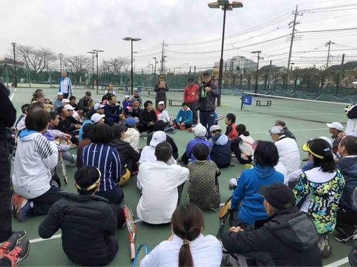 リフレッシュ講習会【亜細亜大学テニス部-EVER UPWARD!】