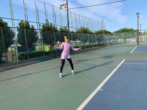 女子練習風景【亜細亜大学テニス部-EVER UPWARD!】