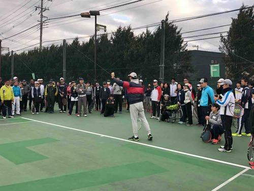 関東テニス協会主催 リフレッシュ講習会【亜細亜大学テニス部-EVER UPWARD!】