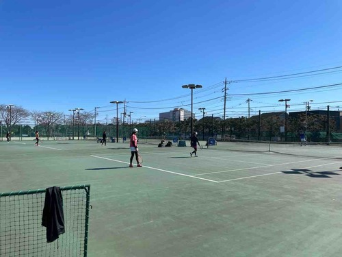 練習風景④【亜細亜大学テニス部-EVER UPWARD!】