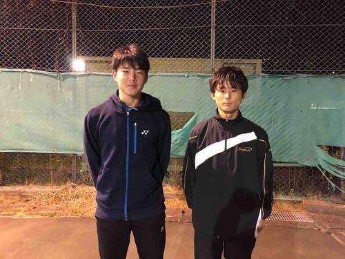 年末合宿参加の団体【亜細亜大学テニス部-EVER UPWARD!】