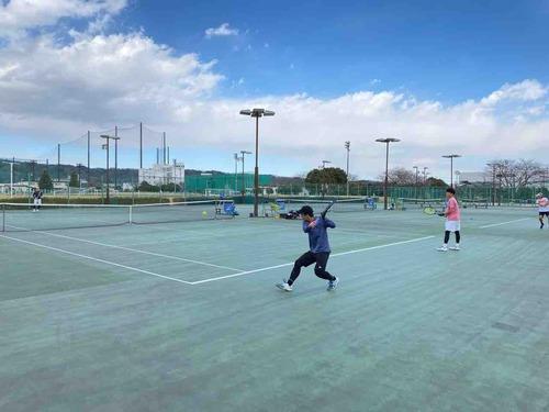 練習風景③【亜細亜大学テニス部-EVER UPWARD!】