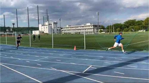 男子トレーニング!!【亜細亜大学テニス部-EVER UPWARD!】