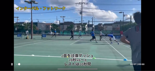 トレーニングメニュー!【亜細亜大学テニス部-EVER UPWARD!】