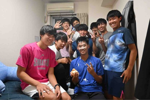 happy birthday!!【亜細亜大学テニス部-EVER UPWARD!】