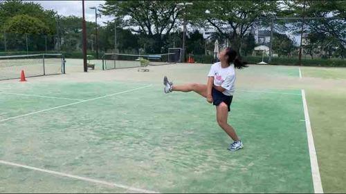 ランニングスマッシュの特訓!!【亜細亜大学テニス部-EVER UPWARD!】