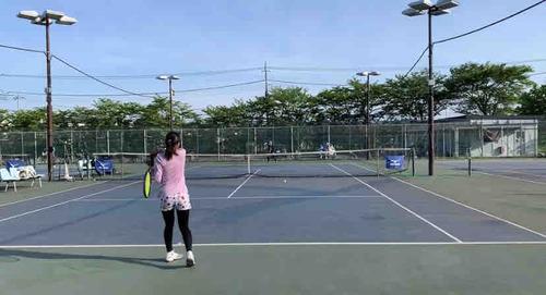女子練習メニュー!!【亜細亜大学テニス部-EVER UPWARD!】