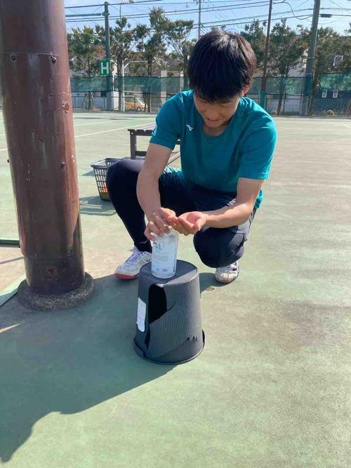 練習風景⑤【亜細亜大学テニス部-EVER UPWARD!】