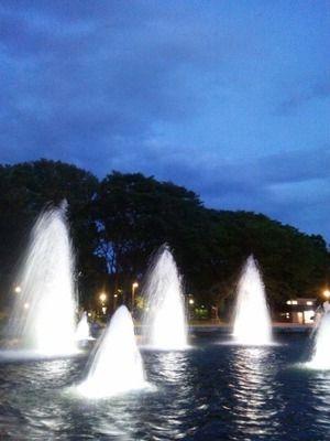上野公園 噴水広場