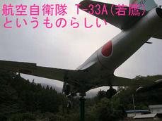 航空自衛隊 T-33A(若鷹)というものらしい