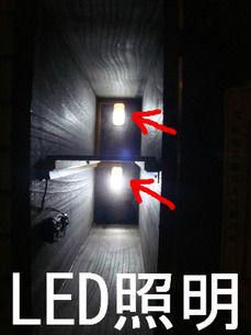 LED照明 点灯
